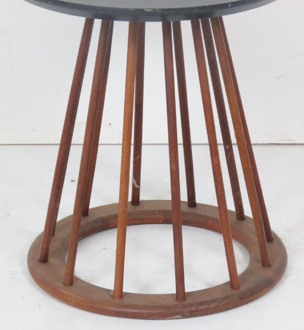 DANISH MODERN SPINDLE SIDE TABLE - 2