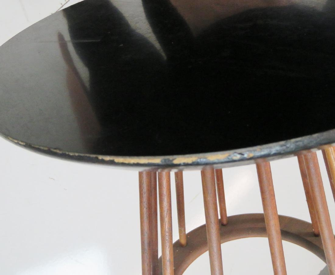 DANISH MODERN SPINDLE SIDE TABLE - 4