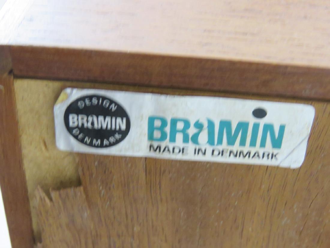 BRAMIN DANISH MODERN TEAK SLIDING DOOR SIDEBOARD - 6