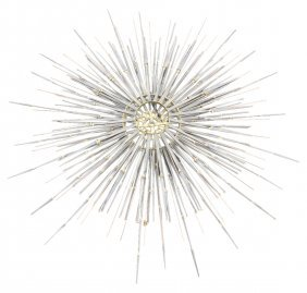 KELVIN METAL STARBURST WALL HANGING
