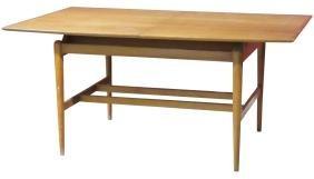 DANISH STYLE MODERN TEAK DINING TABLE