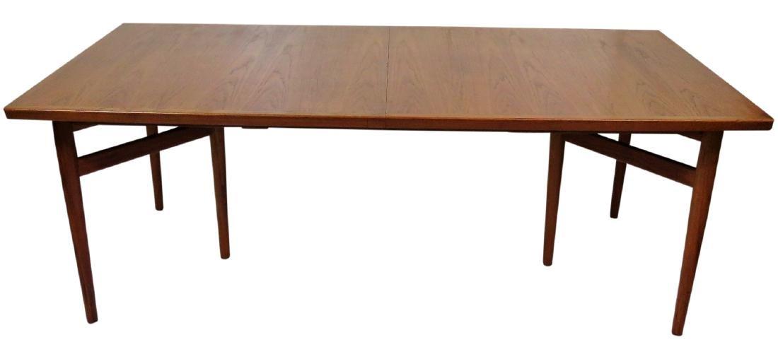 ARNE VODDER DANISH MODERN TEAK DINING TABLE