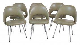 6 Knoll Modern Design Lounge Chairs