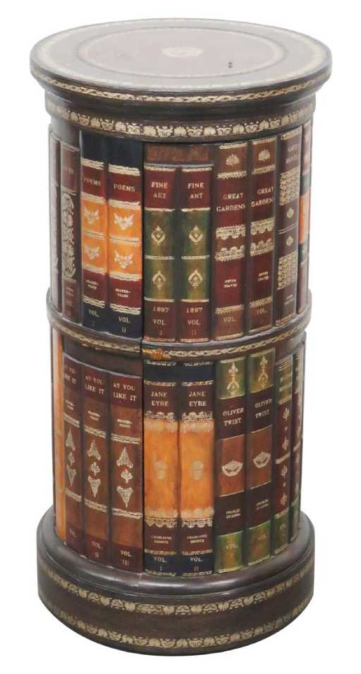 Maitland smith leather book spine side table gumiabroncs Image collections