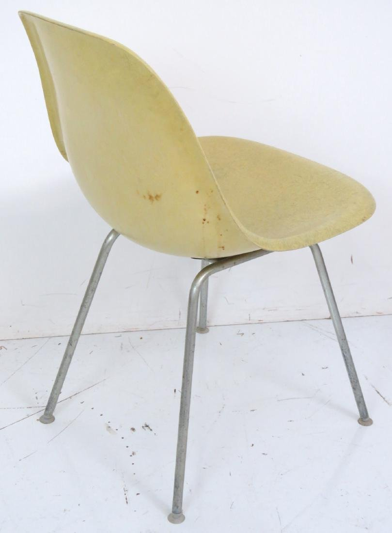 4 HERMAN MILLER CHROME ANT CHAIRS - 4
