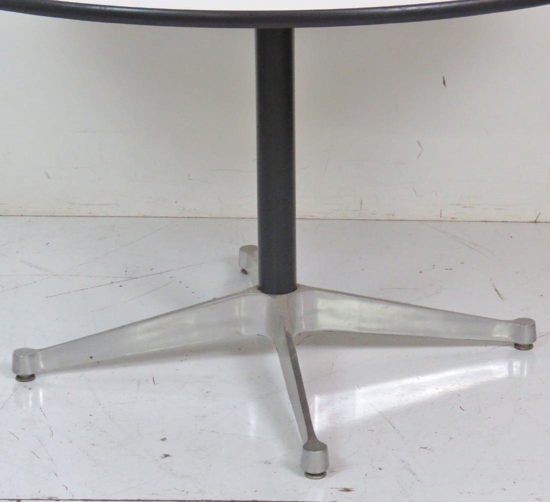 HERMAN MILLER ALUMINUM GROUP DINING TABLE - 2