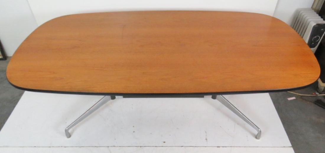 HERMAN MILLER ALUMINUM GROUP CONFERENCE TABLE - 3