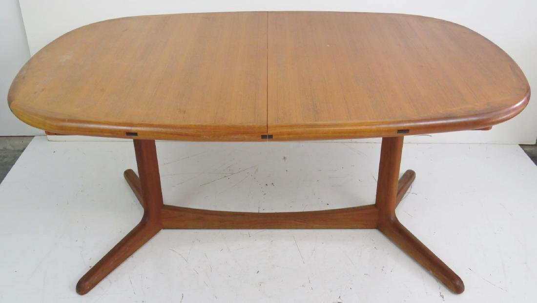 DANISH MODERN TEAK DINING TABLE - 3