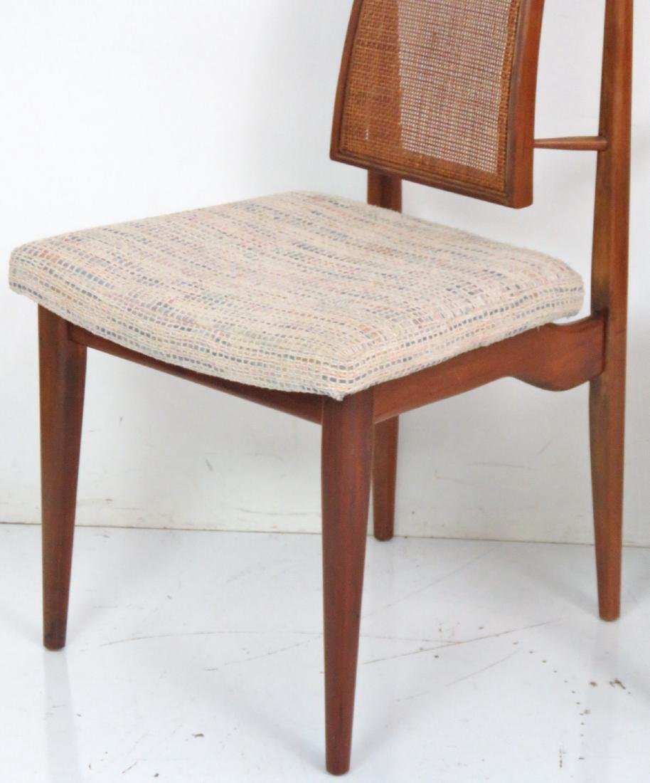 6 VLADIMIR KAGAN DESIGN CANE BACK DINING CHAIRS - 3