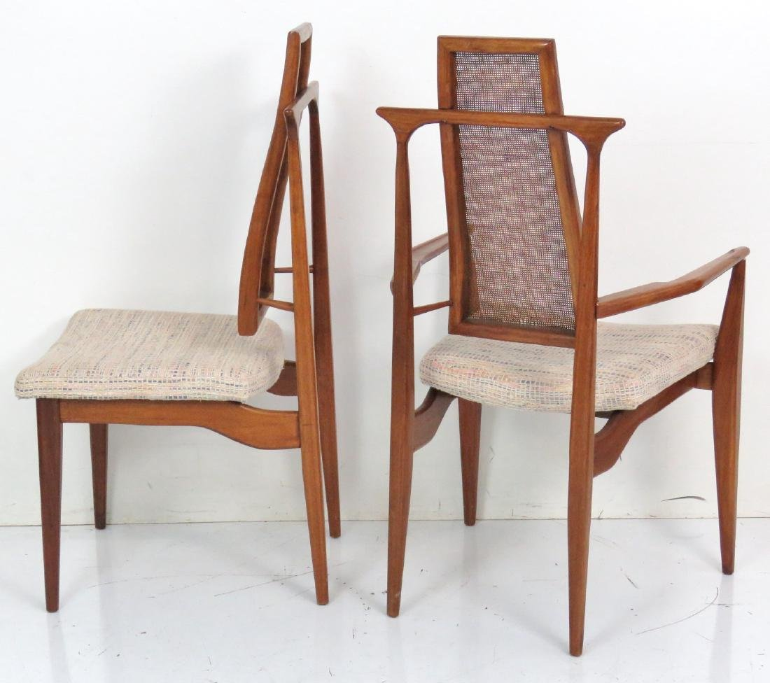 6 VLADIMIR KAGAN DESIGN CANE BACK DINING CHAIRS - 6