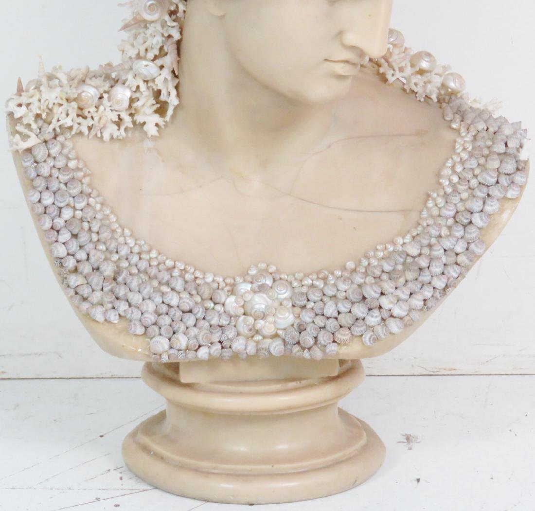 J. ANTHONY REDMILE SHELL ART BUST - 3