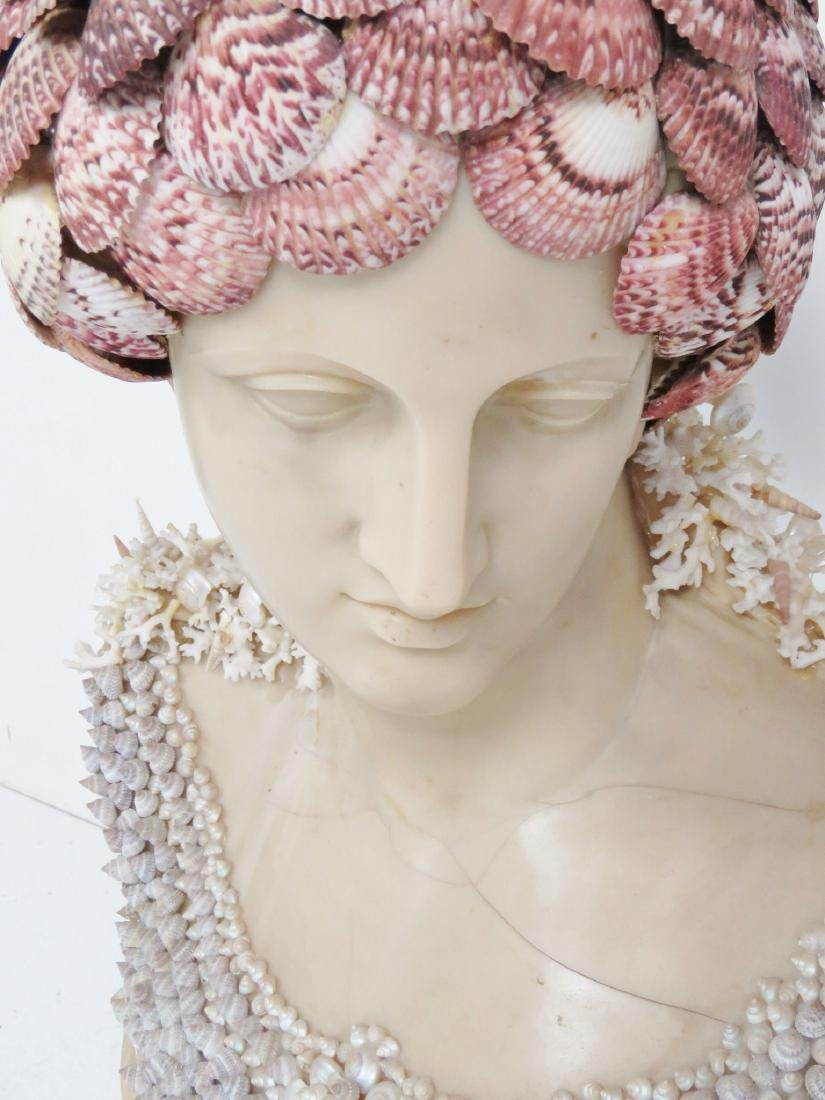 J. ANTHONY REDMILE SHELL ART BUST - 7