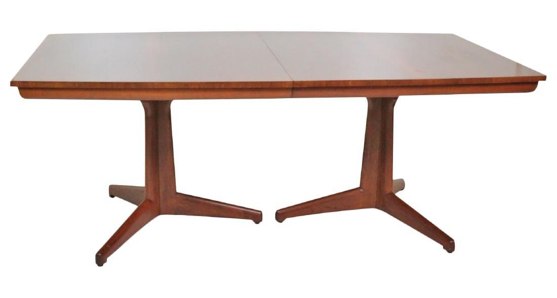 ROBS JOHN GIBBINGS for WIDDICOMB BANDED DINING TABLE