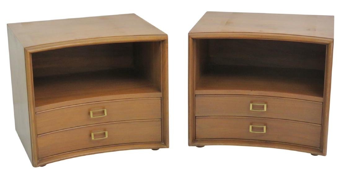 Pair PAUL FRANKL for JOHNSON BROTHERS NIGHTSTANDS