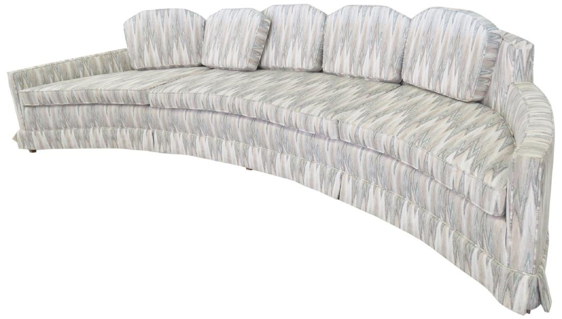 HARVEY PROBBER LARGE CRESCENT SOFA