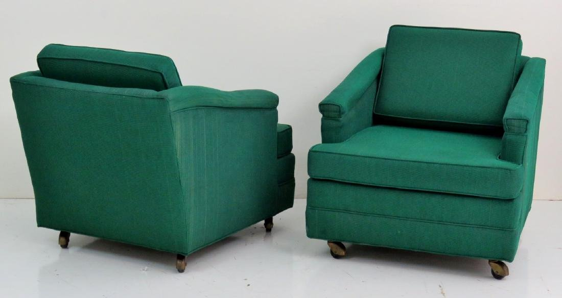 Pair HARVEY PROBBER MODERN LOUNGE CHAIRS - 4
