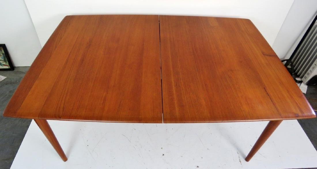ERIC BUCK DANISH MODERN DINING TABLE - 4