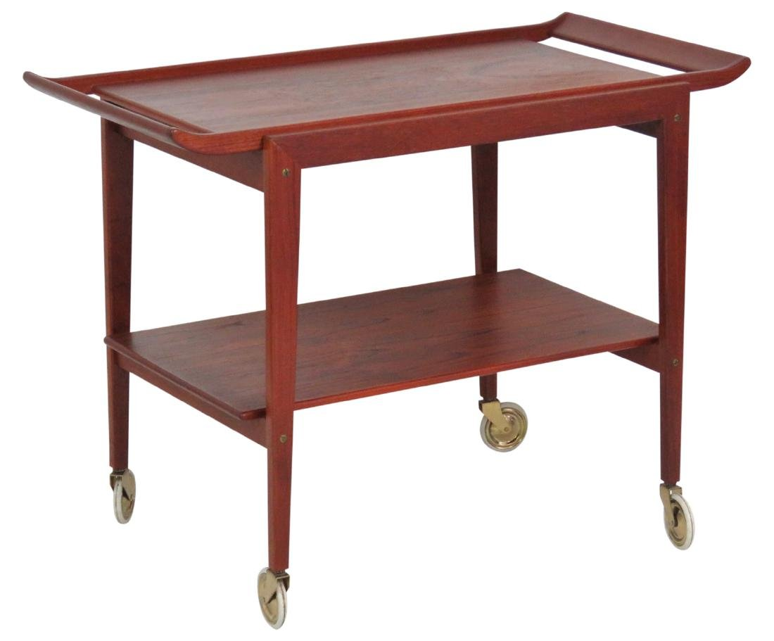 ERIC BUCK DANISH MODERN SERVING CART