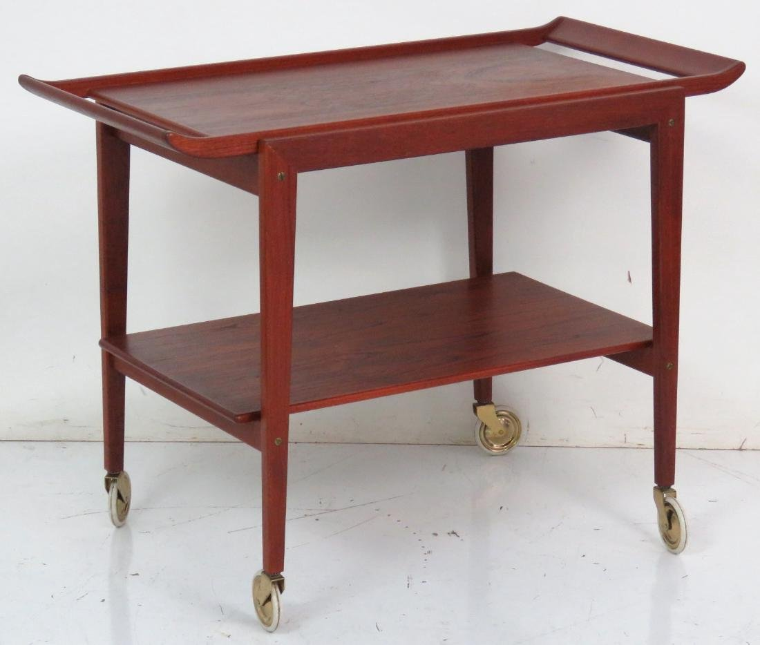 ERIC BUCK DANISH MODERN SERVING CART - 2