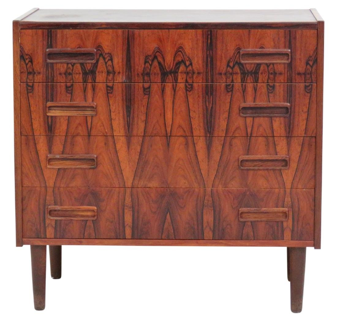 DANISH MODERN ROSEWOOD BACHELOR CHEST