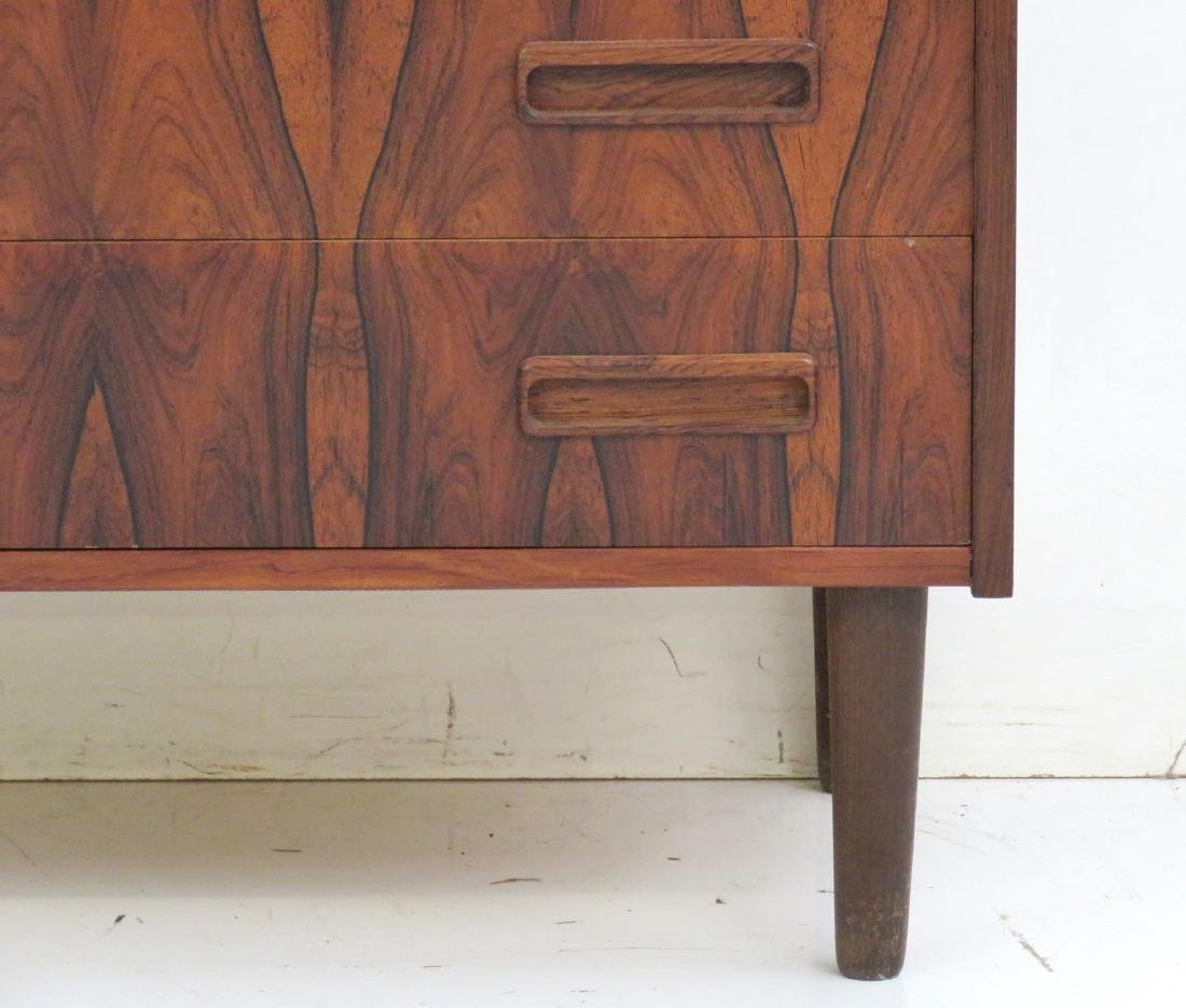 DANISH MODERN ROSEWOOD BACHELOR CHEST - 2