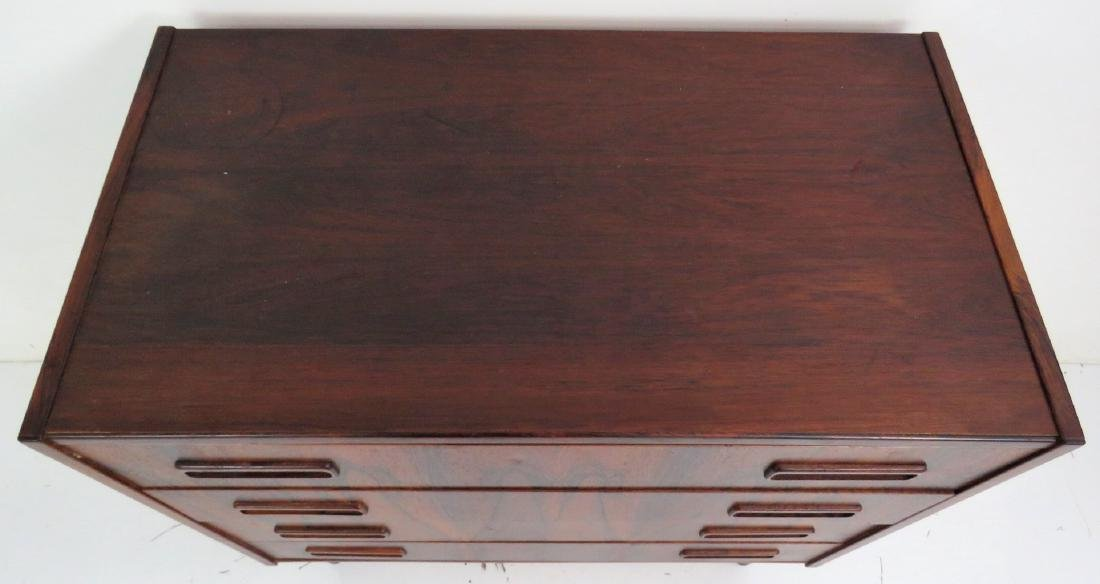 DANISH MODERN ROSEWOOD BACHELOR CHEST - 3