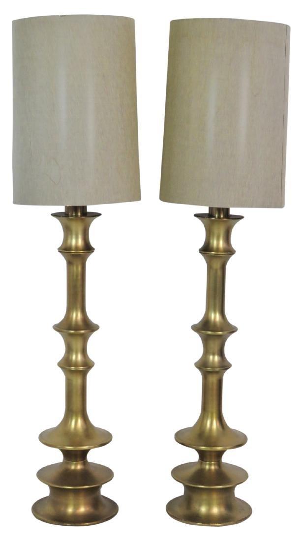 Pair MODERN DESIGN METAL FLOOR LAMPS