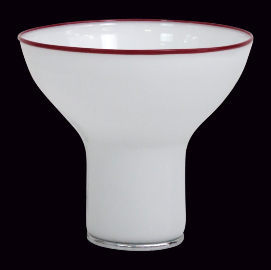 ITALIAN GLASS MUSHROOM LAMP