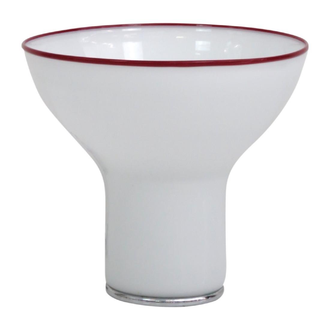 ITALIAN GLASS MUSHROOM LAMP - 2