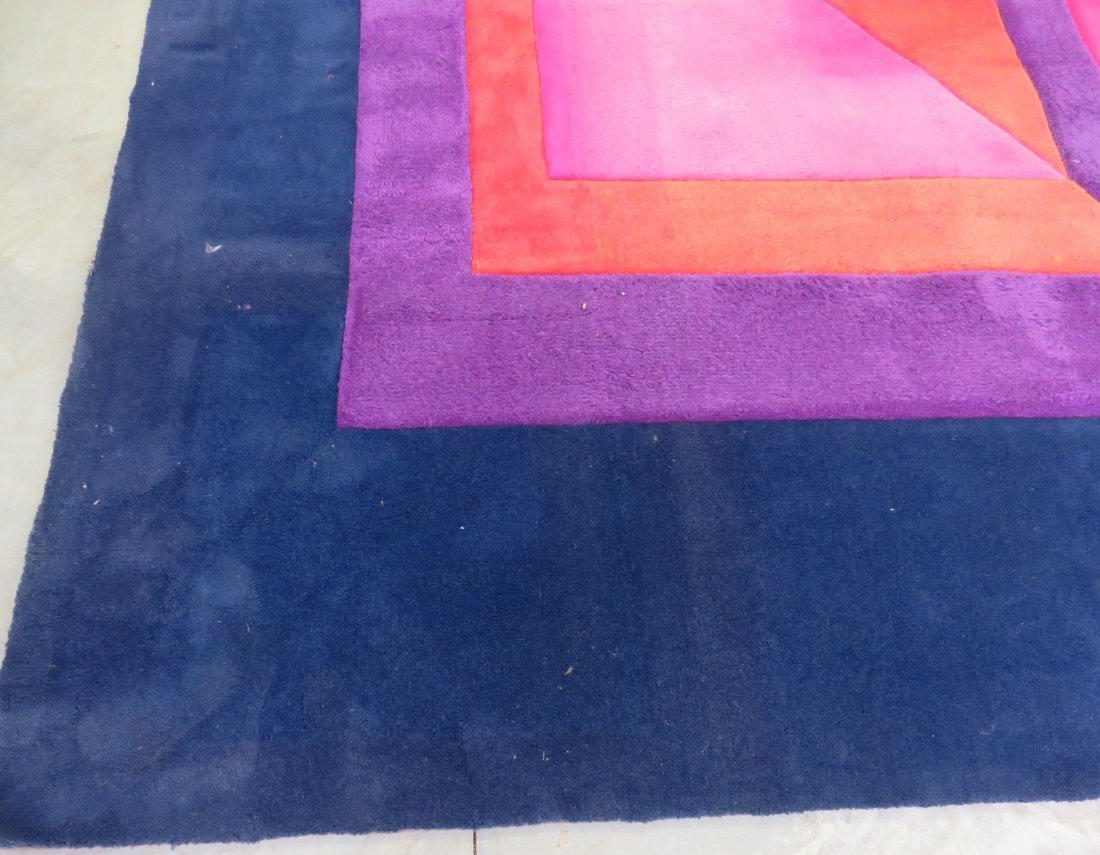 MODERN DESIGN MULTI COLORED RUG - 2