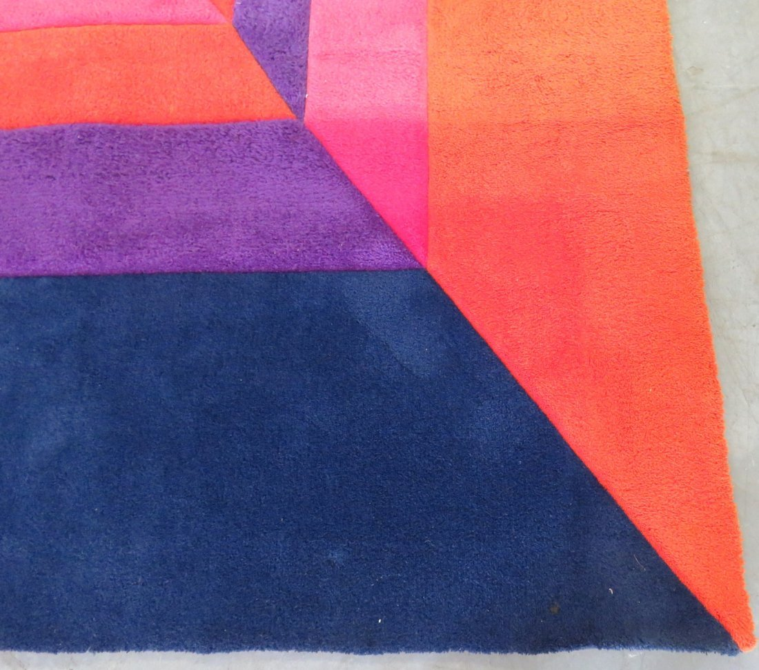 MODERN DESIGN MULTI COLORED RUG - 4