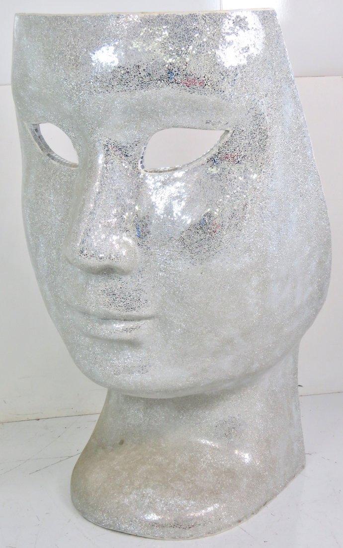 MIRRORED MOSAIC FACE CHAIR