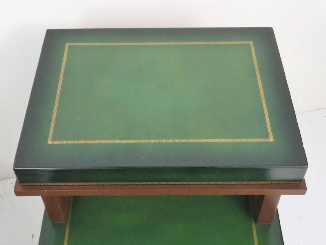 Pair PARZINGER STYLE ART MODERN END TABLES - 5