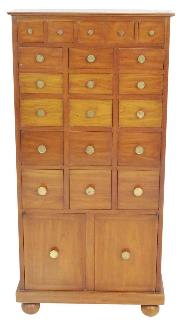 TOMMI PARZINGER STYLE COLLECTORS CABINET