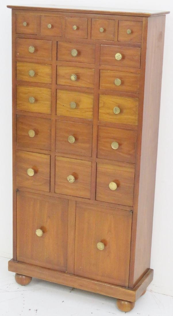 TOMMI PARZINGER STYLE COLLECTORS CABINET - 2