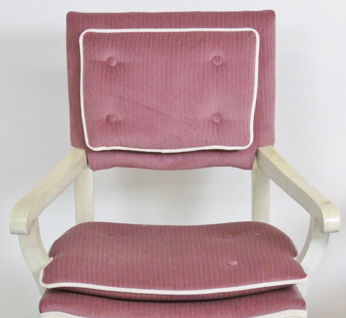 Pair GROSFELD HOUSE STYLE X-CHAIRS - 3