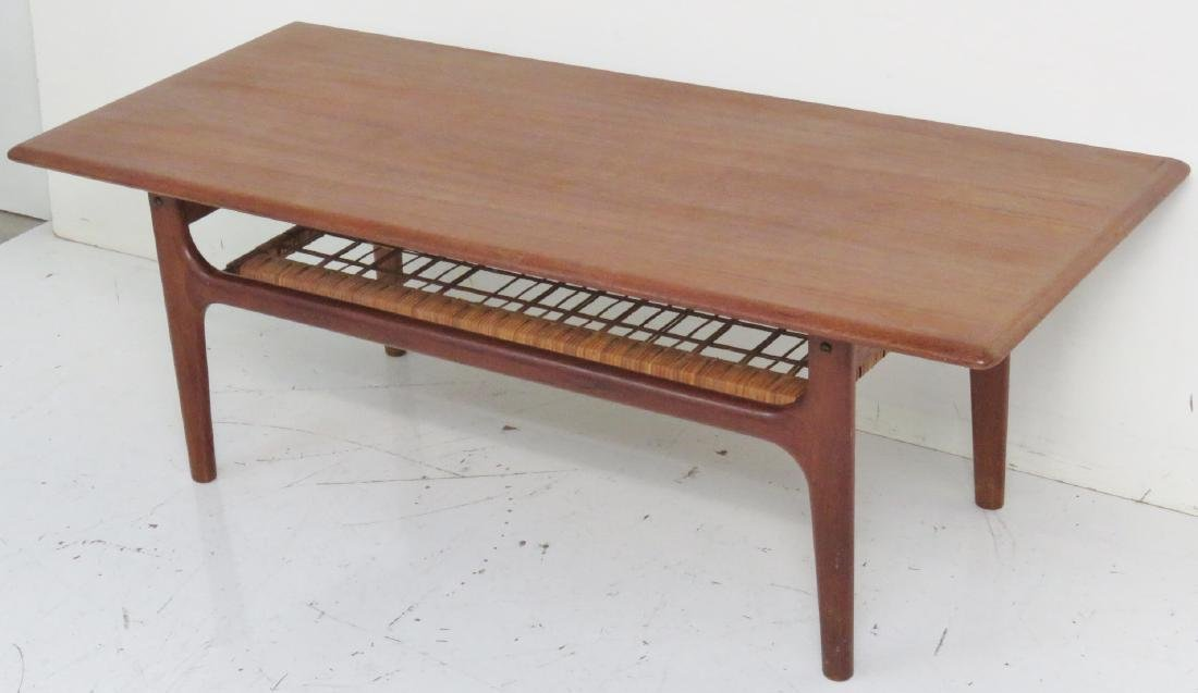 DANISH MODERN TEAK COFFEE TABLE - 2