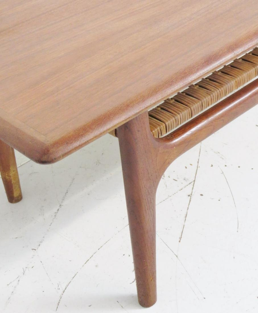 DANISH MODERN TEAK COFFEE TABLE - 4