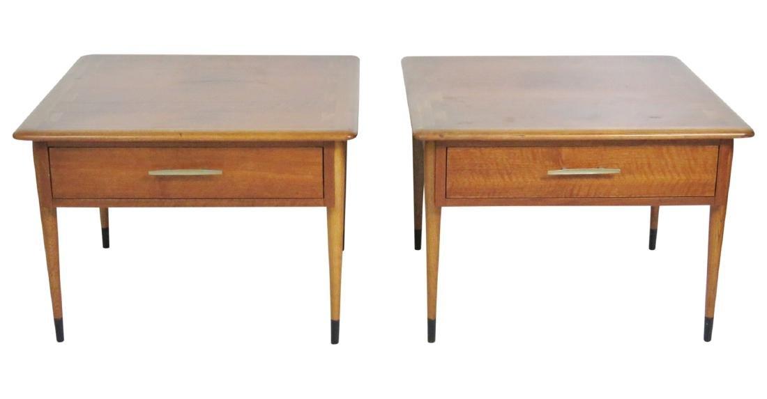 Pair MODERN DESIGN LANE END TABLES