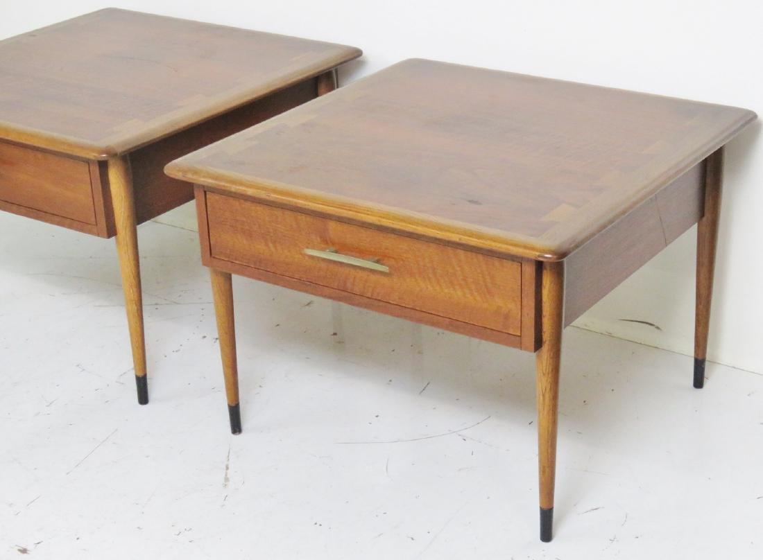 Pair MODERN DESIGN LANE END TABLES - 2