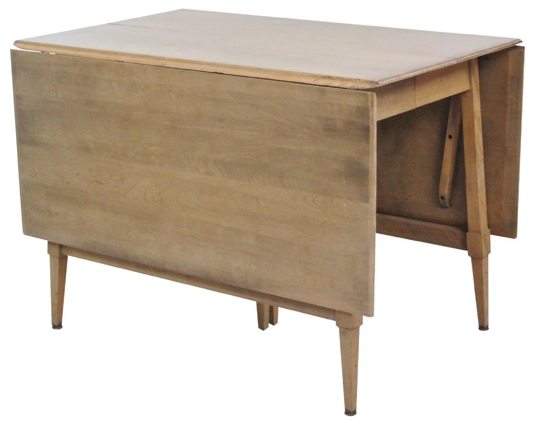 HAYWOOD WAKEFIELD MODERN DESIGN DROP LEAF TABLE