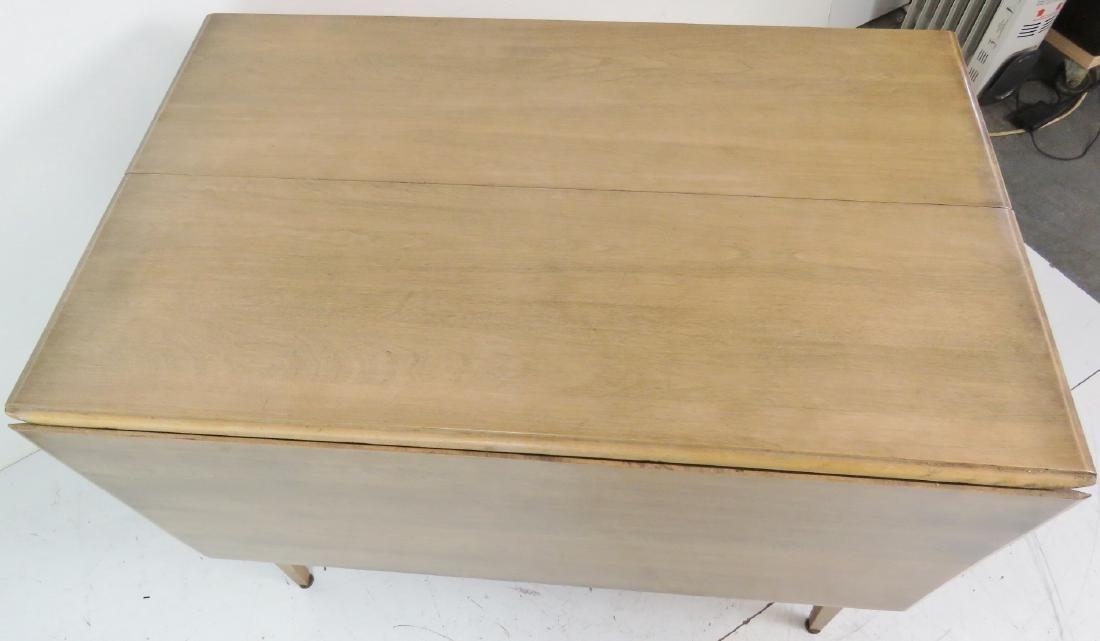 HAYWOOD WAKEFIELD MODERN DESIGN DROP LEAF TABLE - 4