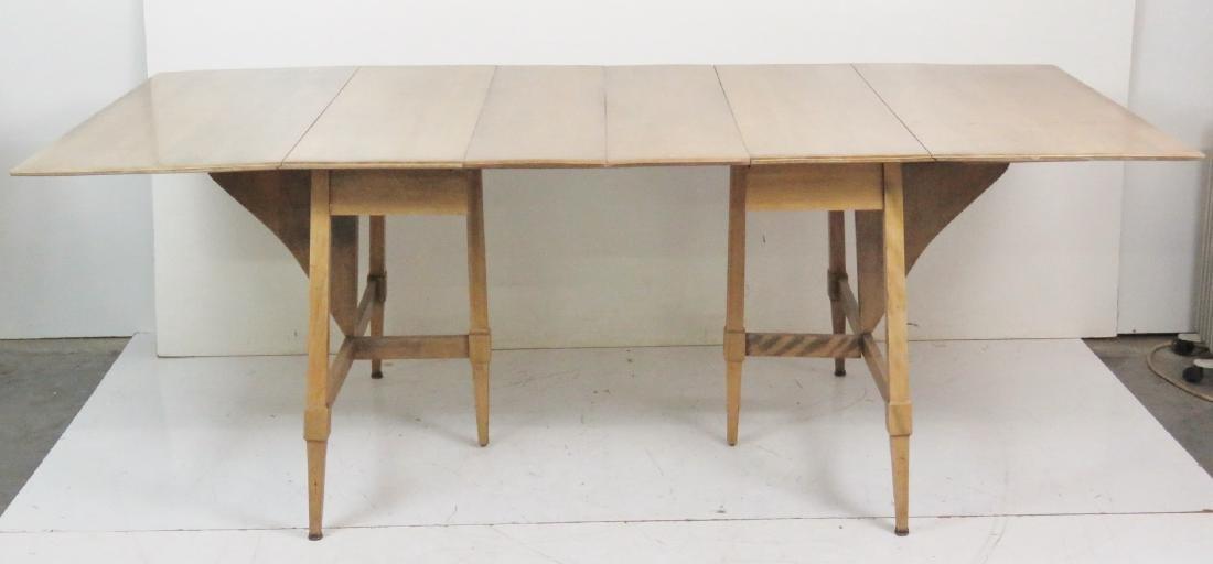 HAYWOOD WAKEFIELD MODERN DESIGN DROP LEAF TABLE - 5