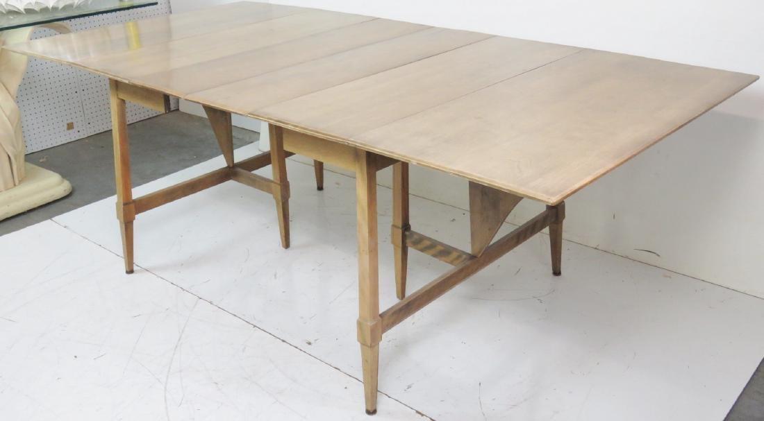 HAYWOOD WAKEFIELD MODERN DESIGN DROP LEAF TABLE - 6