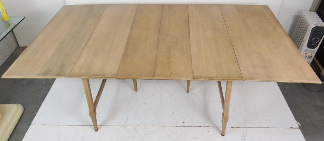 HAYWOOD WAKEFIELD MODERN DESIGN DROP LEAF TABLE - 7