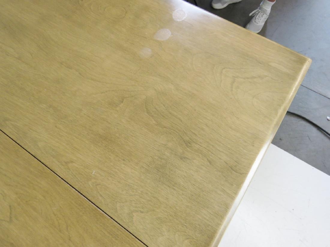 HAYWOOD WAKEFIELD MODERN DESIGN DROP LEAF TABLE - 8