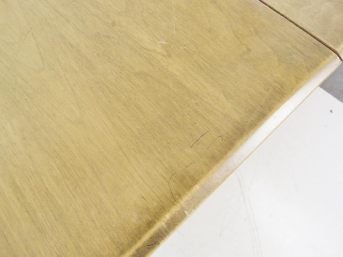 HAYWOOD WAKEFIELD MODERN DESIGN DROP LEAF TABLE - 9