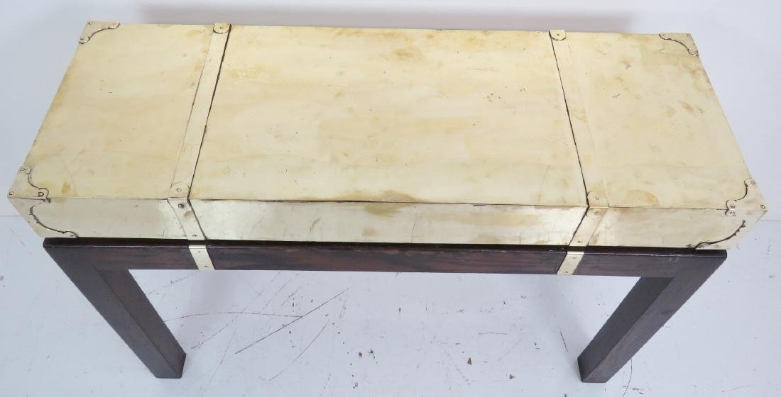 KARL SPRINGER STYLE BRASS CAMPAIGN CONSOLE - 4