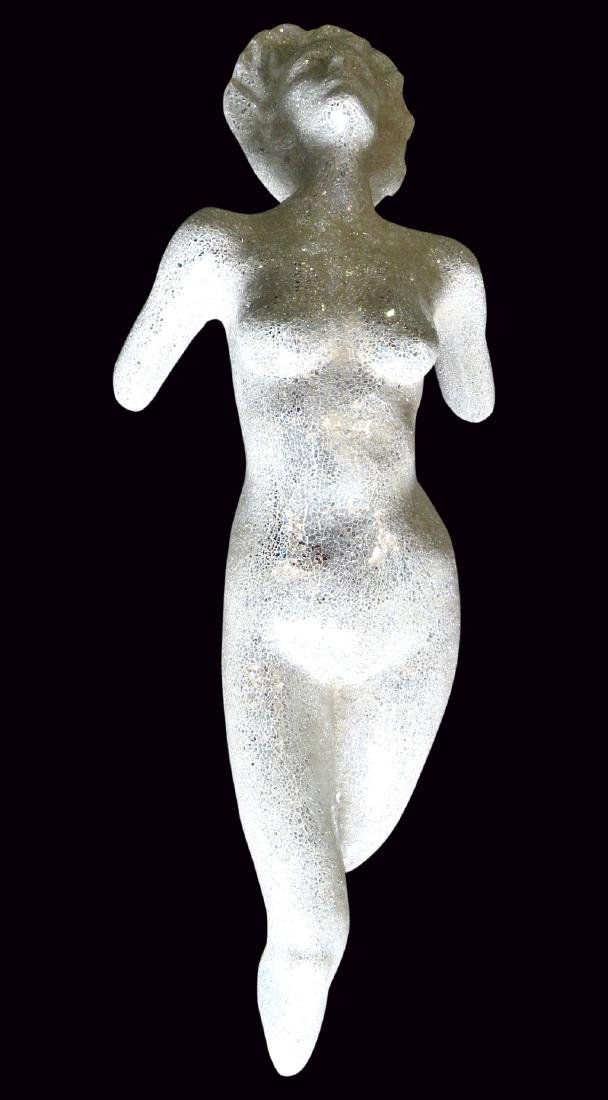 MOSAIC MIRRORED & NUDE WALL SCULPTURE