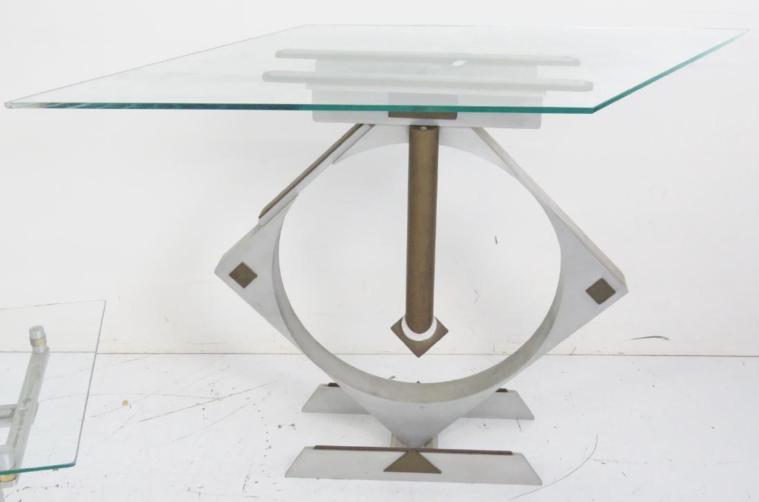 3 STUDIO MID CENTURY MODERN TABLES - 3